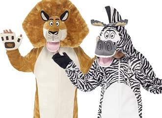 Madagascar Kostuums