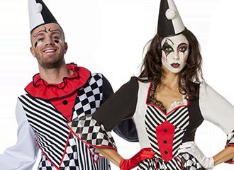 Pierrot Kostuums