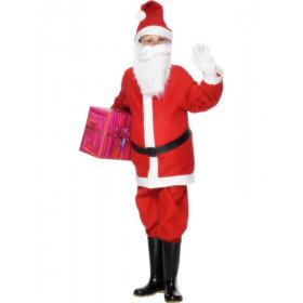 Santa Claus De Goede Man Jongen Kostuum