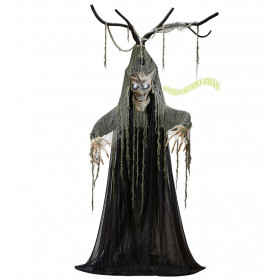 Coole Pratende Behekste Halloween Boom