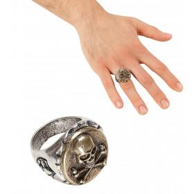 Doodshoofd Ring Schedel En Botten