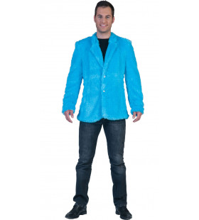 Fuzzy Jasje Blauw