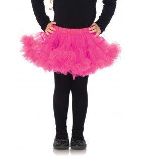 Meisjes Petticoat Roze Neon