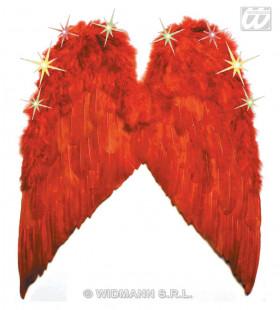 Veren Vleugel Met Licht, Kleur