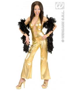 Jumpsuit Goud Hot & Jumping Kostuum Vrouw