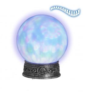 Funky Glazen Bol Met Licht En Caleidoscoop