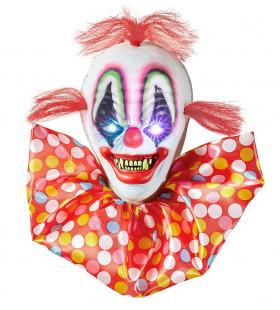 Decoratieve Horror Clown Met Veranderend Licht