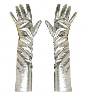 Futura Metallic Handschoenen Zilver