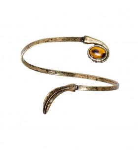Romana Armband Antiek Goud Met Steen
