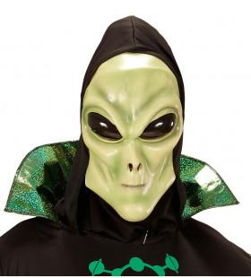 Glubablub Alien Masker Met Kap En Bolle Ogen, Kind