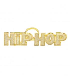 Gangsta Ring Hiphop Goud