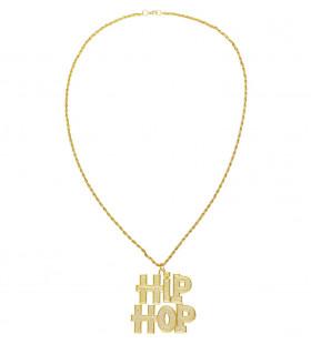 Gangsta Ketting Hiphop Goud