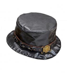 Rocker Hoge Hoed Lederlook Decoratie