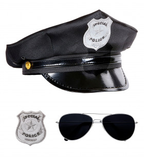 Copper Politie Set