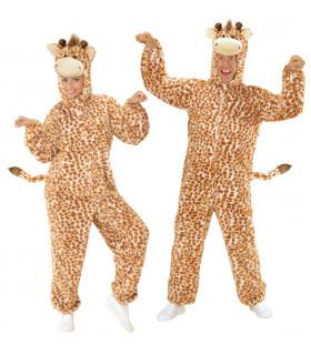 Dieren Onesie Pluche Giraffe Kostuum
